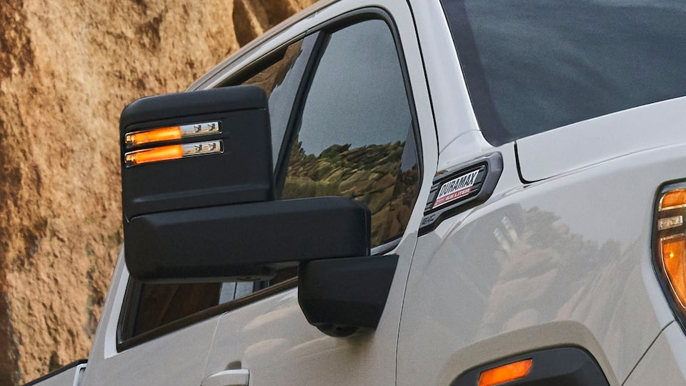 2020 GMC Sierra HD AT4 Off-Road Truck Trailering Mirrors