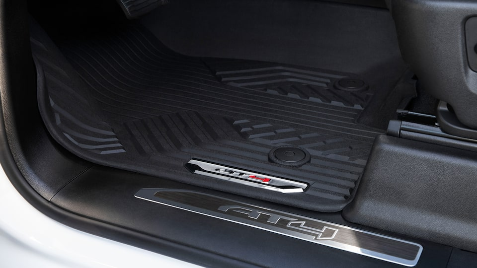 2020 GMC Sierra HD AT4 Off-Road Truck All-Weather Floor Mats