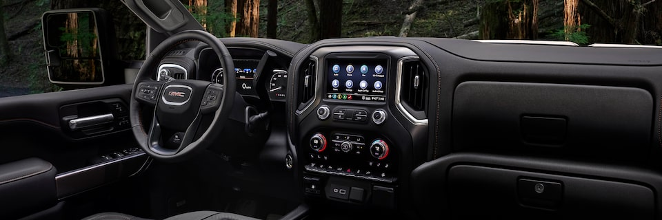2020 GMC Sierra HD AT4 Off-Road Truck Interior Dashboard