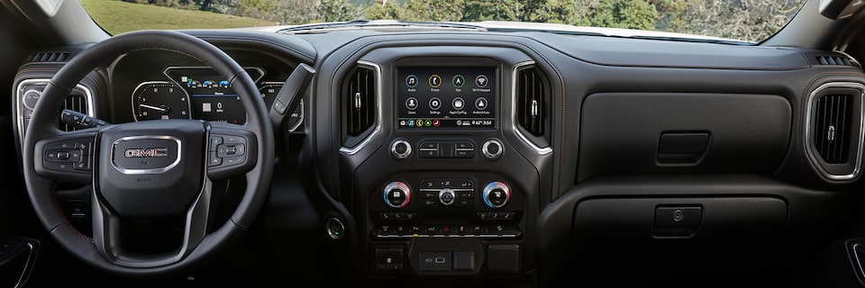 2020 GMC Sierra HD AT4 Off-Road Truck Touch Screen Infotainment System