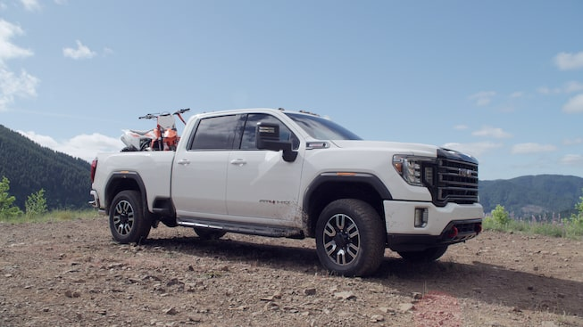 2020 Sierra HD AT4 Exterior Design & Features