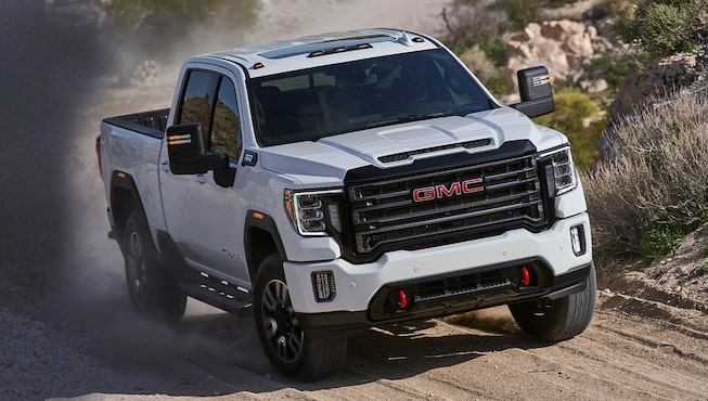 2020 GMC Sierra HD AT4 Off-Road Truck Dual-Path Air Induction System