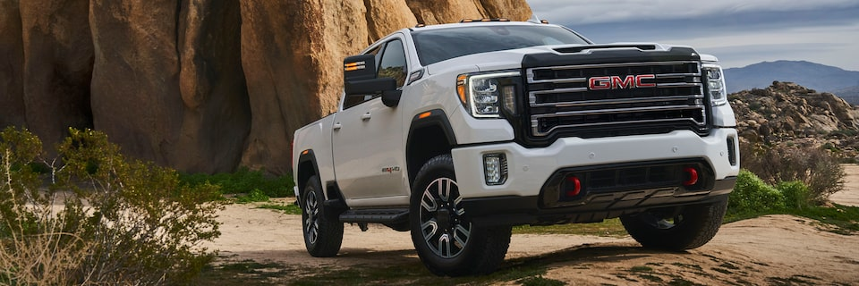 2020 GMC Sierra HD AT4 Off-Road Truck Front Exterior
