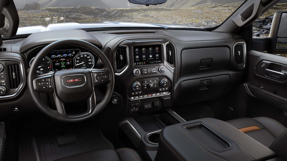 2020 GMC Sierra HD AT4 Off-Road Truck Front Dashboard Interior