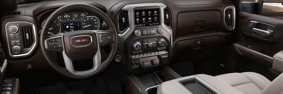 Interior Features   2020 Sierra 2500HD & 3500HD   Heavy ...