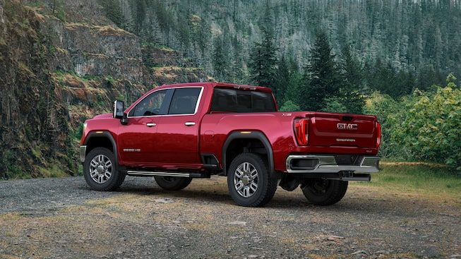 2020 GMC Sierra Heavy Duty Pickup Truck: rear corner view