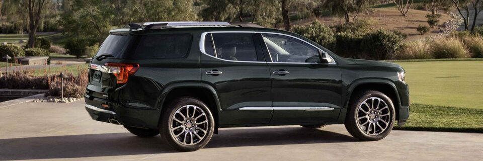 2021 GMC Acadia Denali Luxury Mid-Size SUV Side Profile View