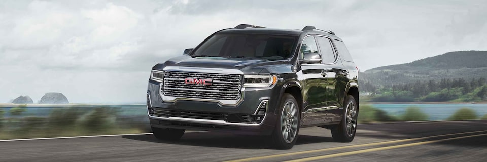 2021 GMC Acadia Mid-Size SUV Front Side View