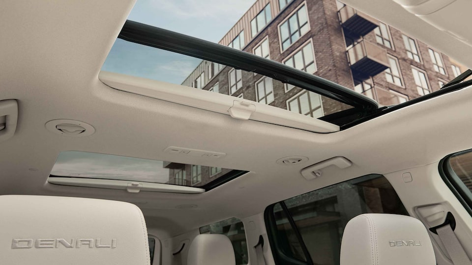 2021 GMC Acadia Mid-Size SUV Interior Moon Roof View