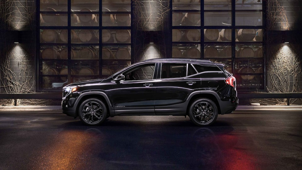 2021 GMC Terrain Small SUV Elevation Edition Profile View