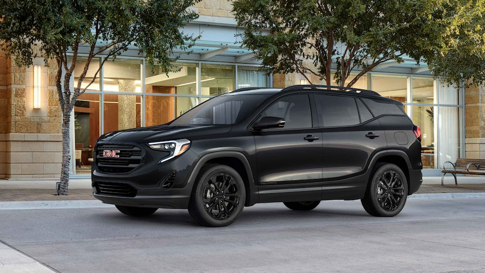 2021 GMC Terrain Small SUV Elevation Edition Driver Side View