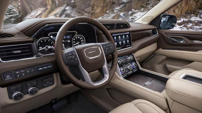 model overview  2021 gmc yukon denali  luxury fullsize suv