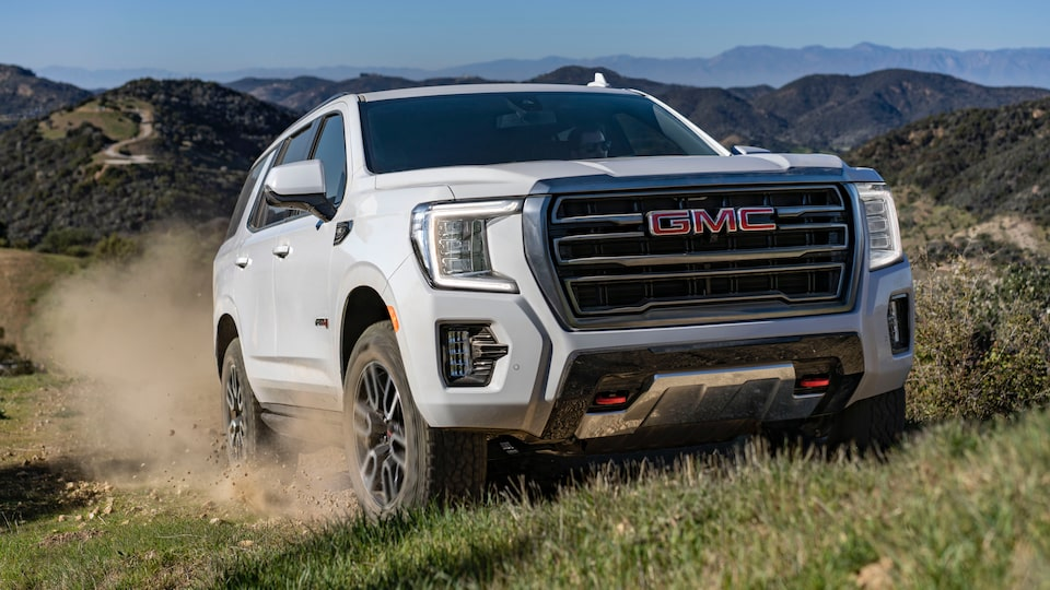 2021 GMC Yukon Full size SUV with Active Response System