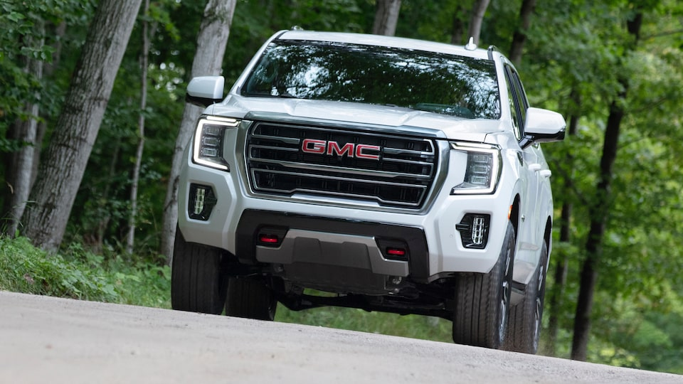 2021 GMC Yukon Full size SUV Ascending with Hill Start Assist