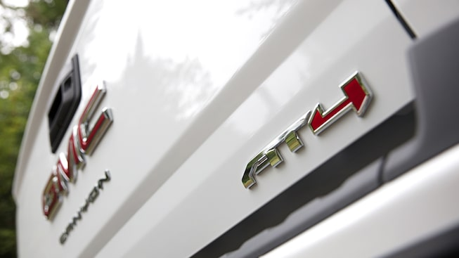 2021 GMC Canyon AT4 Interior Badging