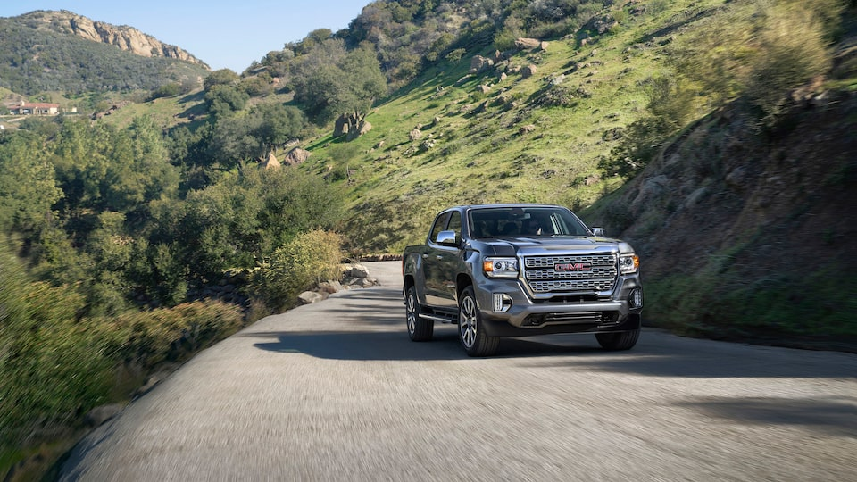 2021 GMC Canyon Denali Luxury Small Truck Front View