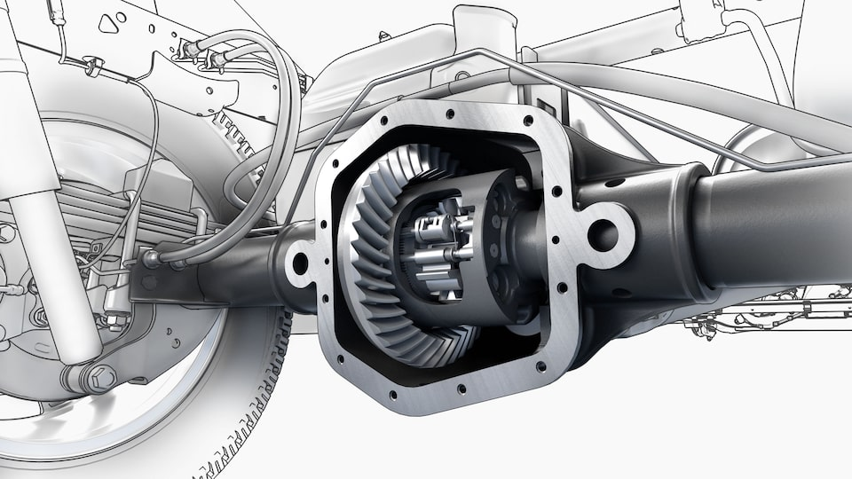 2021 GMC Canyon locking differential