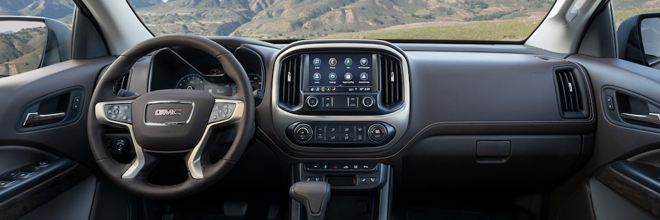 2021 GMC Canyon Small Truck Interior Instrument Panel