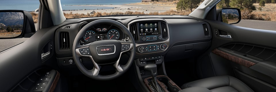 2021 GMC Canyon Small Truck Interior Dashboard