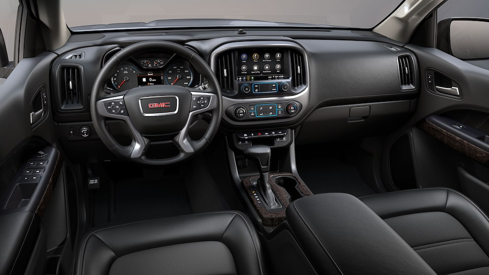2021 GMC Canyon Small Truck quiet cabin