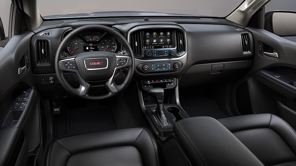 2021 GMC Canyon AT4 interior dashboard