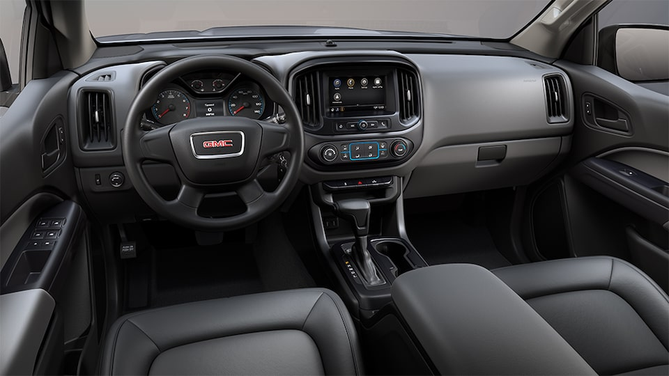 2021 GMC Canyon Elevation standard interior dashboard