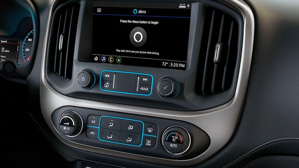 2021 GMC Canyon with Amazon Alexa connectivity