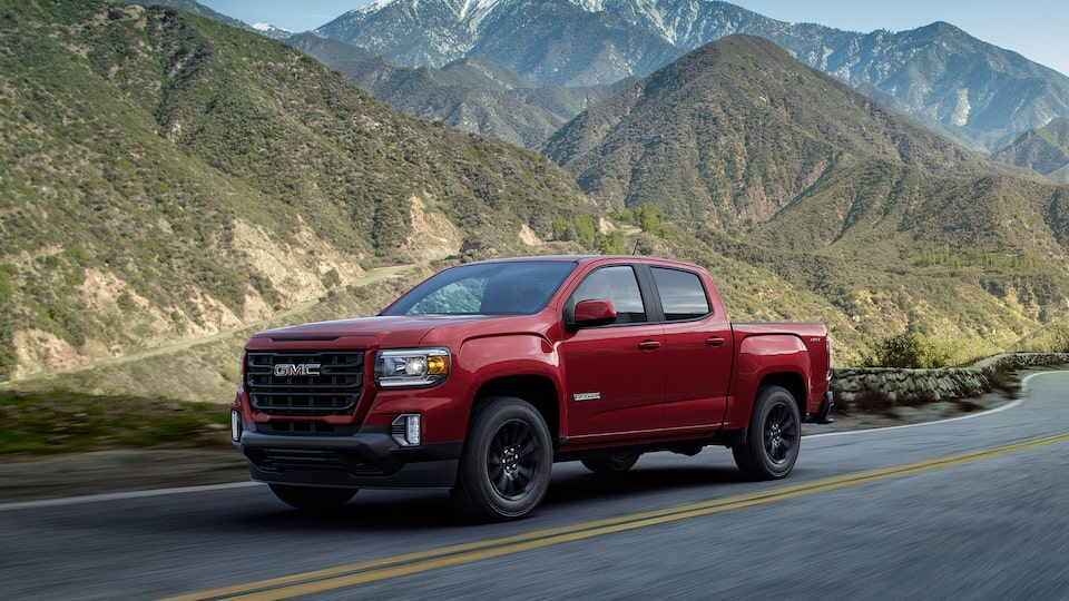 2021 GMC Canyon Small Truck Front Side Exterior View