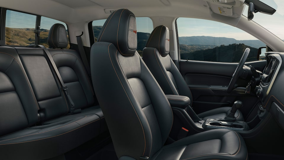 2021 GMC Canyon Small Truck Interior Seating