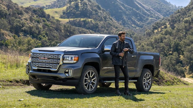 2021 GMC Canyon Denali Small Luxury Truck driver side exterior
