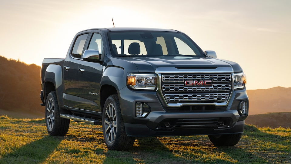 Exterior Features 2021 Gmc Canyon Small Pickup Truck