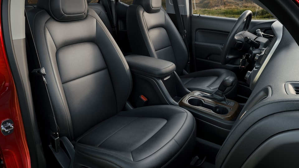 2021 GMC Canyon Small Truck Front Seats