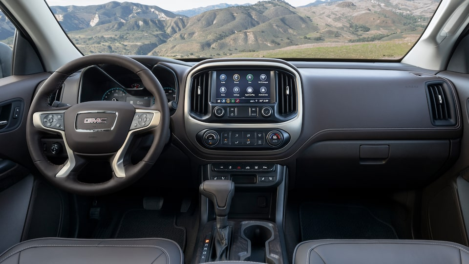 2021 GMC Canyon Small Truck Infotainment System