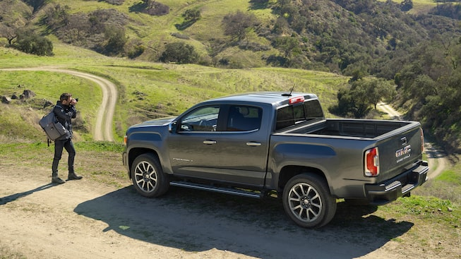 model overview  2021 gmc canyon denali  small luxury truck