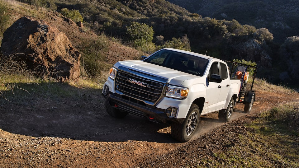 2021 GMC Canyon trailer brake