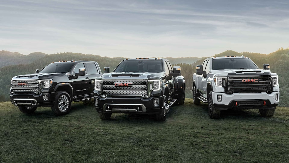 2021 GMC Sierra HD Heavy Duty Truck Lineup