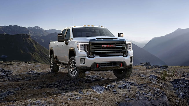 2021 GMC Sierra HD AT4 Off-Road Truck Grille Exterior