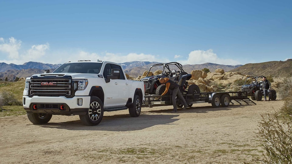 2021 GMC Sierra HD AT4 with strong chassis and suspension
