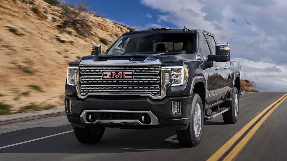 Model Details | 2021 GMC Sierra HD Denali | Luxury Truck