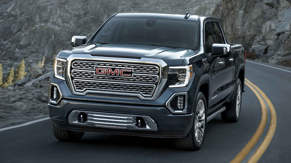 2021 GMC Sierra 1500 Denali Luxury Truck with Adaptive Ride Control