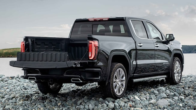 2021 GMC Sierra 1500 Denali Luxury Truck Rear tailgate open