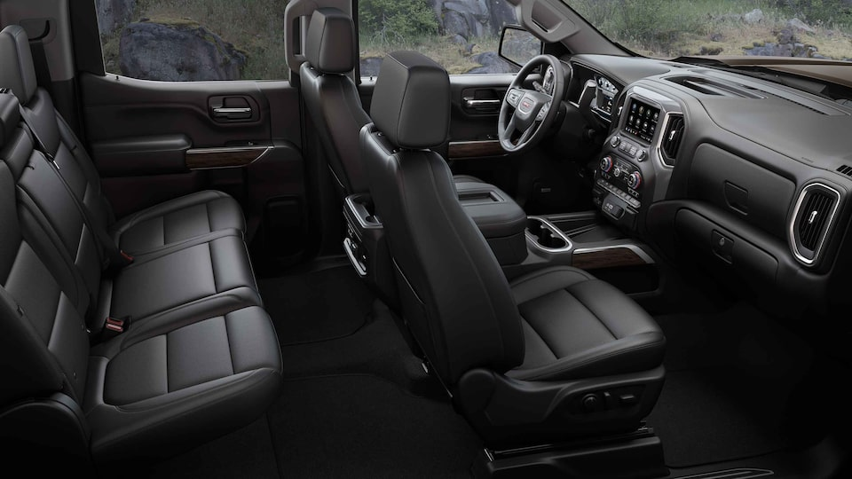 2021 GMC Sierra 1500 Pickup Truck Interior Cabin view