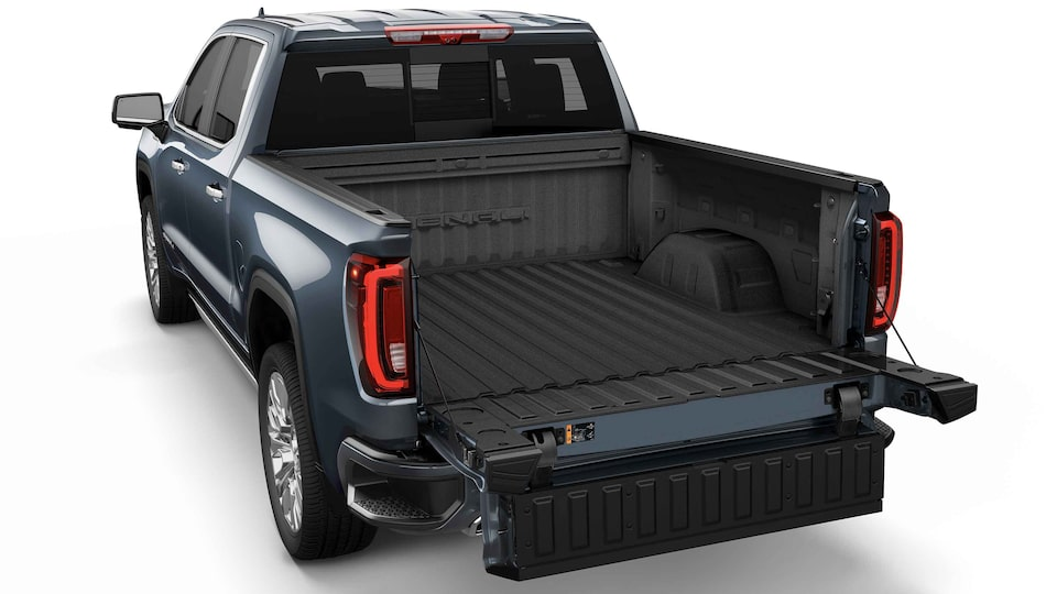 2021 GMC Sierra 1500 Pickup Truck with easy access for loading truck