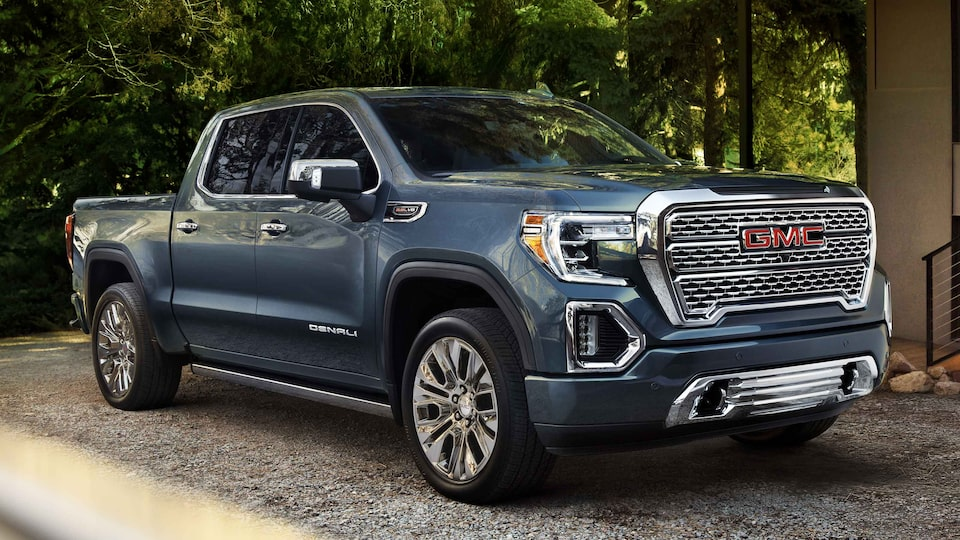 2021 GMC Sierra 1500 Denali Luxury Truck with signature chrome accents