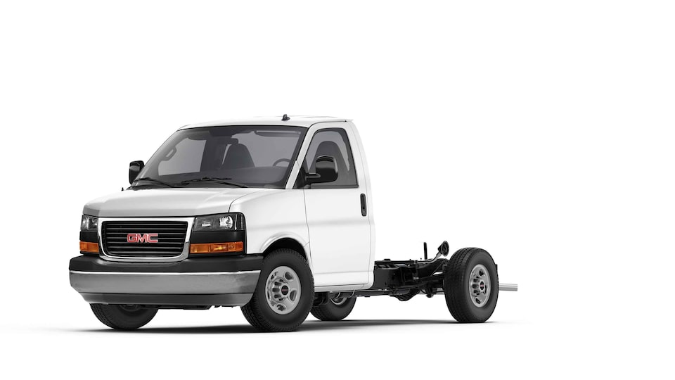 2021 GMC Savana Cutaway Van with Hill Start Assist