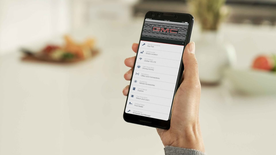 myGMC Mobile app for smartphones