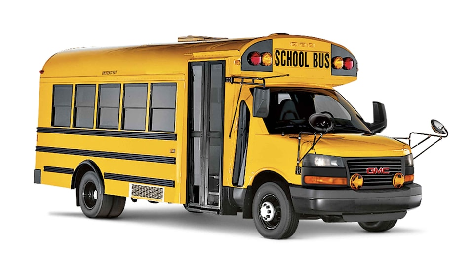 2021 GMC Savana Cutaway Van: School Bus