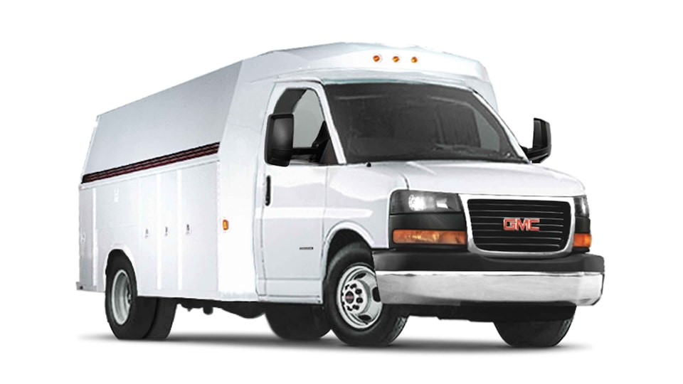 2021 GMC Savana Cutaway Van: Utility Vehicle