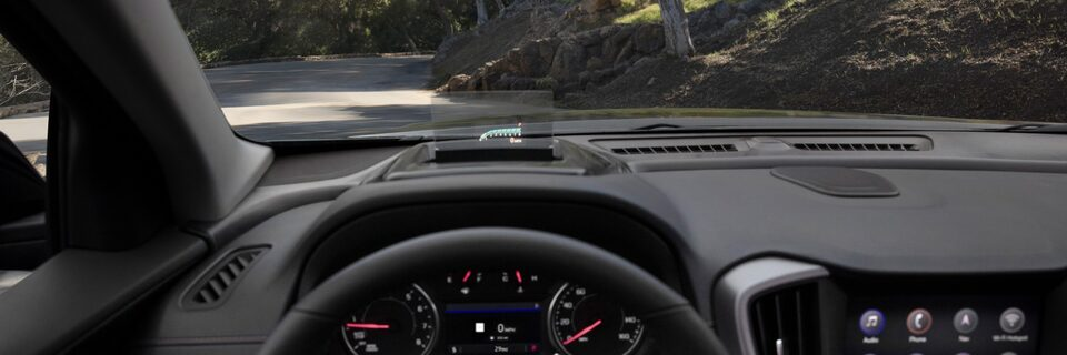 2022 GMC Terrain Small SUV with heads-up display