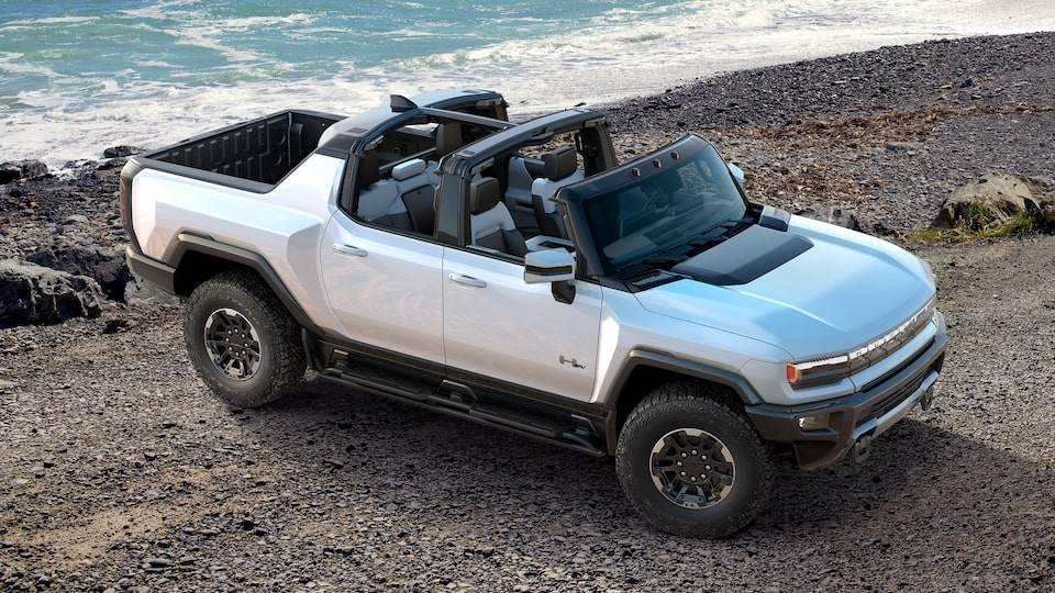 2020 GMC HUMMER EV Electric Truck with infinity roof